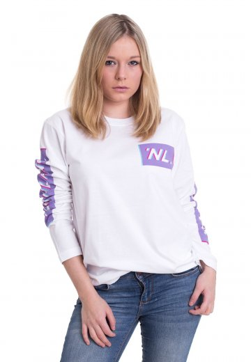 Northlane - 3D Box White - Longsleeve