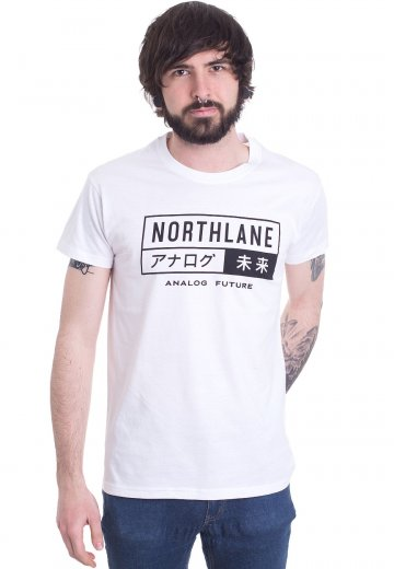 Northlane - Analog Future White - T-Shirt