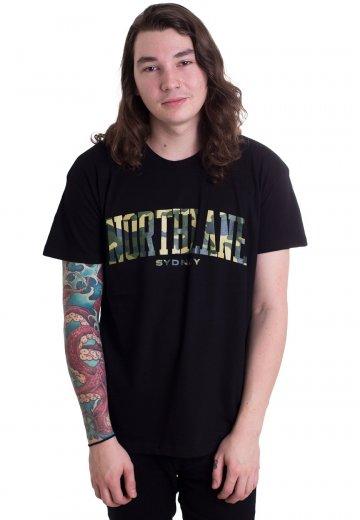Northlane - Camo Varsity - T-Shirt