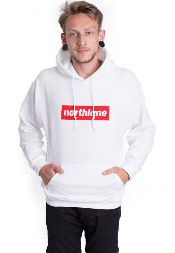 Northlane - Classic Box Logo White - Hoodie