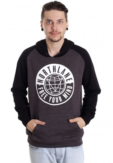 Northlane - Free Your Mind Charcoal/Black - Hoodie
