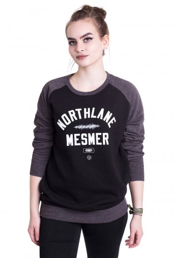 Northlane - Mesmer Varsity Black/Charcoal - Sweater