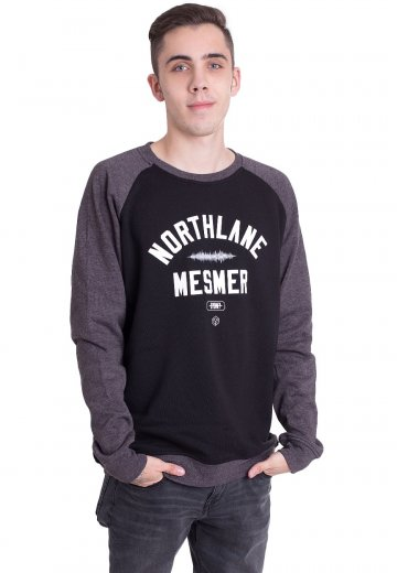 Northlane - Mesmer Varsity Black/Charcoal - Sweater