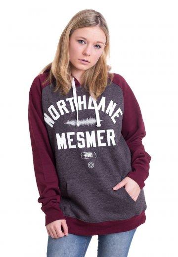Northlane - Mesmer Varsity Charcoal/Burgundy - Hoodie