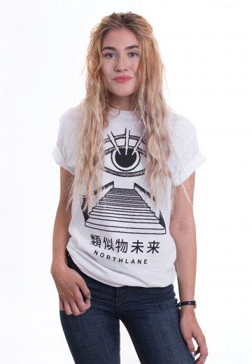 Northlane - Mystic Eye White - T-Shirt