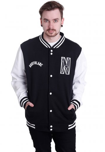 Northlane - Varsity Black/White - College Jacket