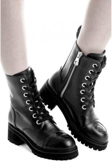 Killstar - Not Phased Combat Black - Girl Shoes