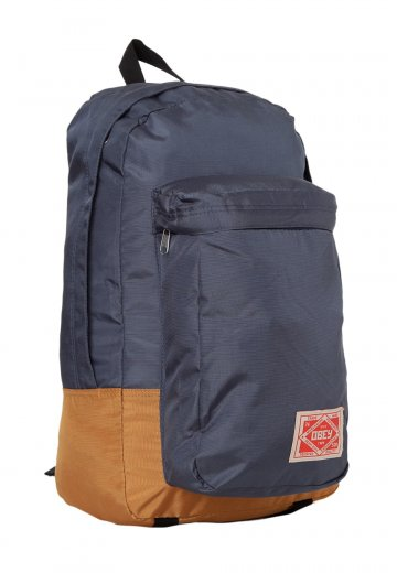 4aec7fba6277 Obey - Commuter Pack Navy Gold - Backpack - Streetwear Shop - Impericon.com  US
