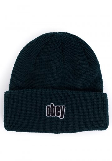 f288d382208 Obey - Jungle Dark Teal - Beanie - Streetwear Shop - Impericon.com AU