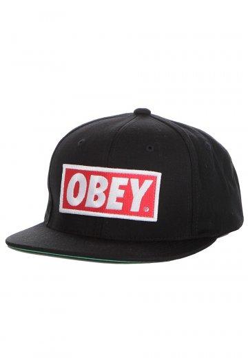 Obey - Original Snapback - Cap - Streetwear Shop - Impericon.com Worldwide cde0bc37435