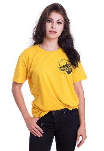 07ac57033657d Obey The Brave - Les Temps Yellow - T-Shirt - Official Hardcore Merchandise  Shop - Impericon.com AU