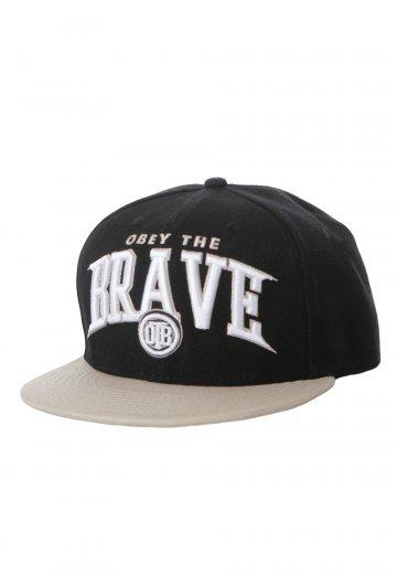 d8e98945f152e Obey The Brave - Logo Black Gold Snapback - Cap - Official Hardcore  Merchandise Shop - Impericon.com UK