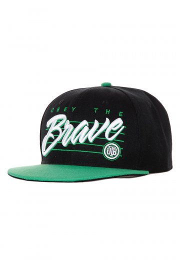 6462a6a9d74 Obey The Brave - OTB Black Green - Cap - Official Metalcore Merchandise Shop  - Impericon.com Worldwide