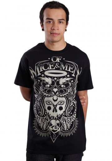 4220bf4b Of Mice & Men - Goat - T-Shirt - Official Screamo Merchandise Shop -  Impericon.com AU
