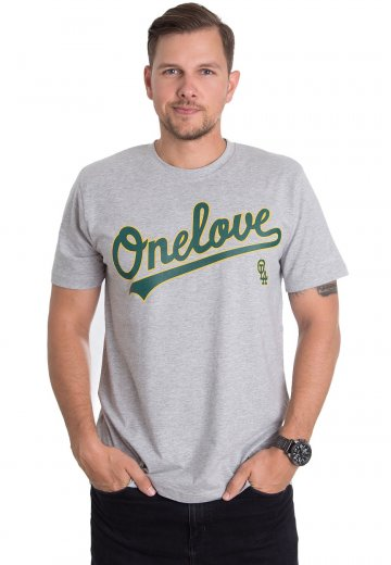 One Love Apparel - Athletics Sportsgrey - T-Shirt
