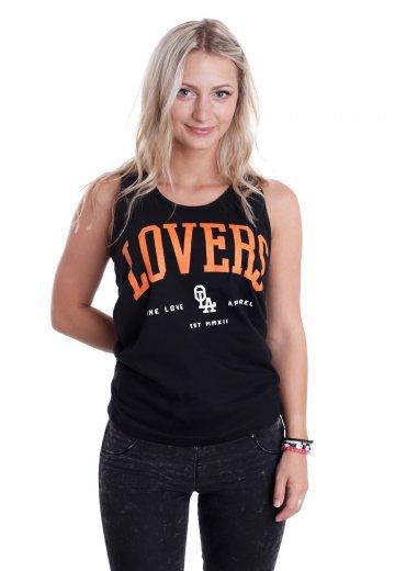 One Love Apparel - Black & Orange - Tank