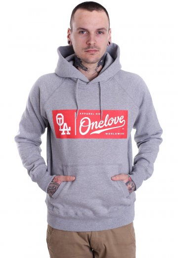 One Love Apparel - Red Label Light Heather - Hoodie