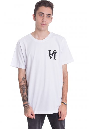 One Love Apparel - Statue White - T-Shirt