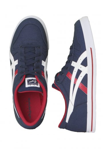 huge discount a9db5 80240 Onitsuka Tiger - Aaron CV Medieval Blue/Tango Red - Shoes