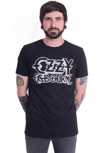 ad692766e Ozzy Osbourne - Vintage Logo - T-Shirt - Official Classic Rock Merchandise  Shop - Impericon.com UK