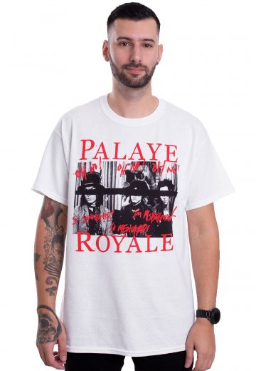 Palaye Royale - Don't Feel Quite Right White - T-Shirt