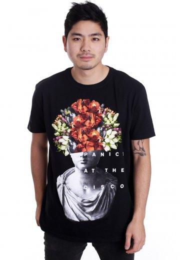Panic At The Disco Flower Head T Shirt Impericon Com De