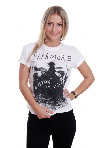721573974513 Paramore - Future Silhouette White - T-Shirt - Official Indie Merchandise  Shop - Impericon.com UK