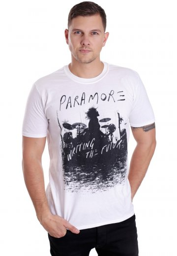 5ab82d00c8e8 Paramore - Future Silhouette White - T-Shirt - Official Atmospheric  Merchandise Shop - Impericon.com UK