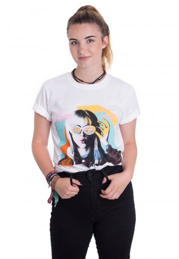 97b6ee57367 Paramore - Hard Times White - T-Shirt - Official Alternative Merchandise  Shop - Impericon.com Worldwide