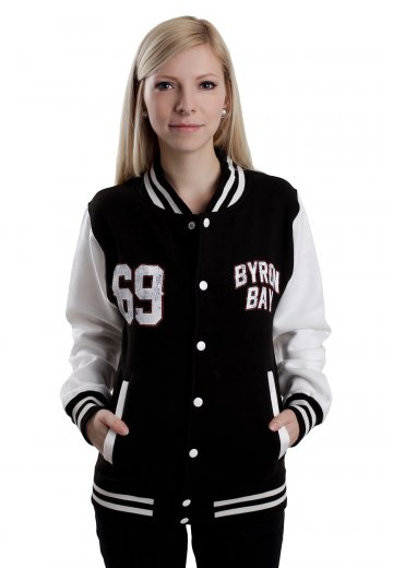 Parkway Drive - Byron Bay Black/White - College Jacket