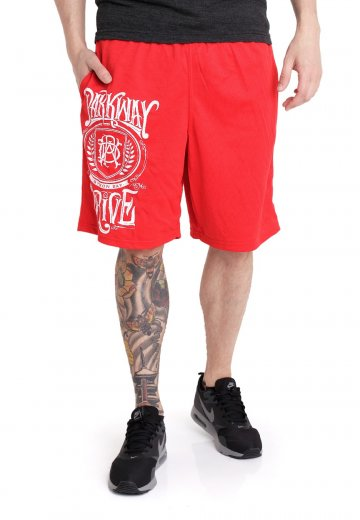 Parkway Drive - Crest Logo Red - Shorts