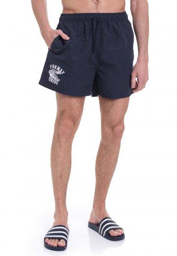 Parkway Drive - Croc Navy - Shorts