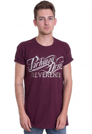Parkway Drive - New Logo Burgundy - T-Shirt