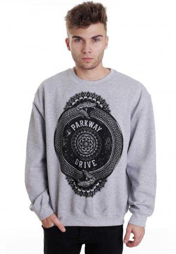 Parkway Drive - Snake Sportsgrey - Sweater