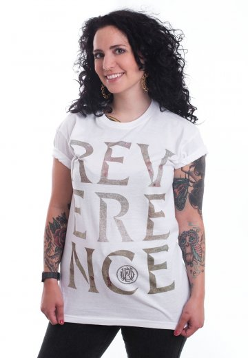 Parkway Drive - Stacked Reverence Logo White - T-Shirt