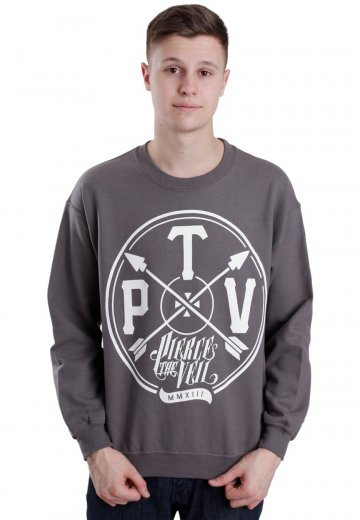 Pierce The Veil - Arrow Charcoal - Sweater