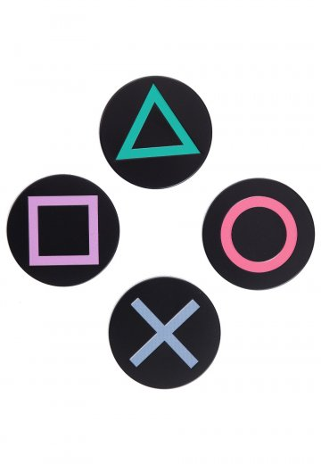 Playstation - Buttons Metal - Coaster