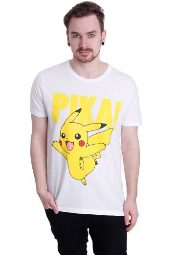 Pokémon - Pikachu White - T-Shirt