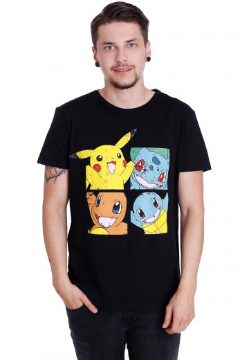 Pokémon - Pikachu And Friends - T-Shirt