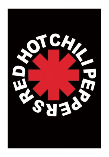 Red Hot Chili Peppers Logo Poster Official Pop Merchandise