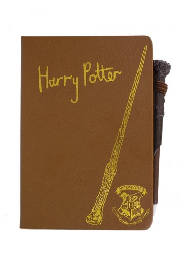 Harry Potter - Harry Potter - Notebook   Wand Pen - Impericon.com Worldwide 8a841b123730
