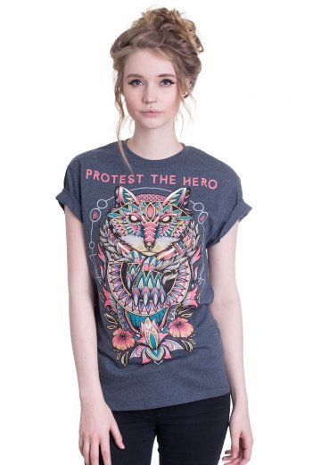 Protest The Hero - Fox Claw Dark Heather - T-Shirt
