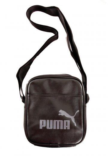 56bc66e57d32 Puma - Campus Portable Black Black Steel Grey - Bag - Impericon.com  Worldwide
