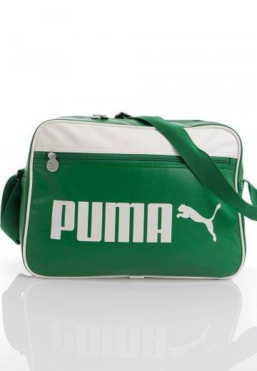 83e0faf20a54f Puma - Campus Reporter Amazon/Whisper White - Bag
