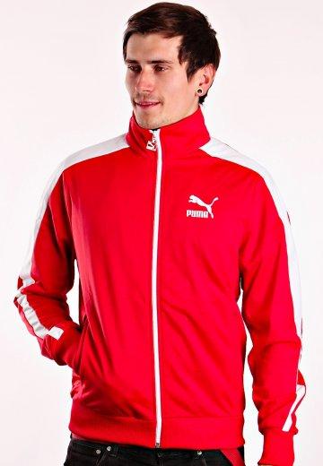 eb014b3f37f Puma - Heroes T7 Track Ribbon Red - Casaco de Treino - Loja de ...