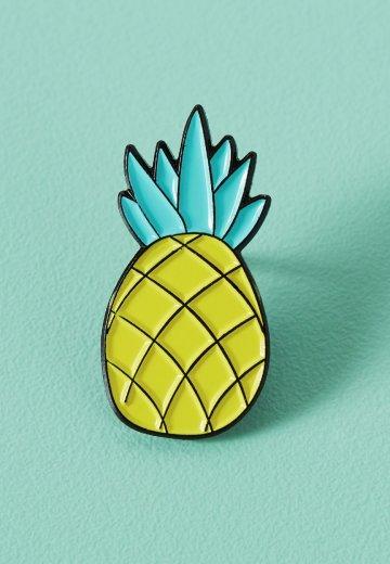 Punky Pins - Chunky Pineapple Enamel - Pin
