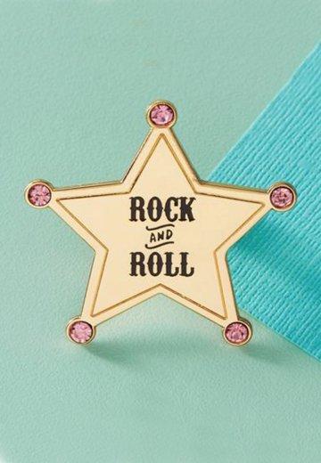 Punky Pins - Rock & Roll Hard Enamel - Pin