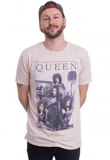 Queen - Vintage Frame Sand - T-Shirt