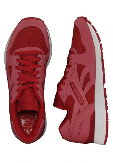 843aa5e0531828 Reebok - GL 6000HM Tech Excellent Red White - Shoes - Impericon.com  Worldwide