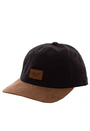 REELL - Curved Suede Black - Cap